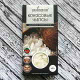 """Кокосовые чипсы """"Polezzno"""" Необжаренные"""